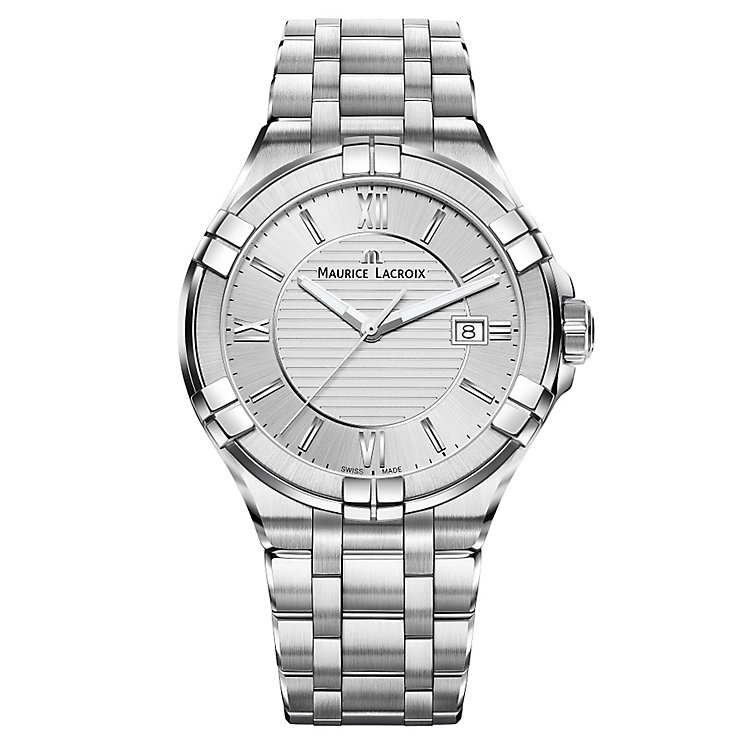 Maurice Lacroix Aikon Men's Stainless Steel Bracelet Watch - Product number 5925738