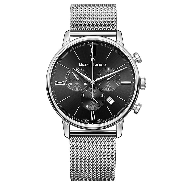 Maurice Lacriox Eliros Men's Stainless Steel Bracelet Watch - Product number 5925819