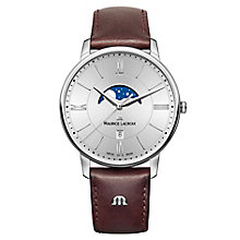 Maurice Lacriox Eliros Moonphase Men's Strap Watch - Product number 5925835