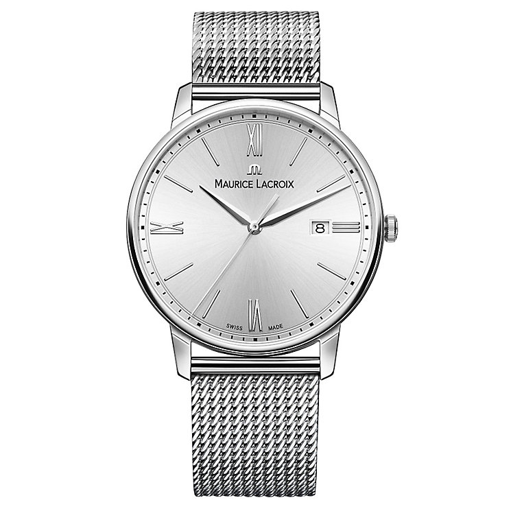 Maurice Lacriox Eliros Men's Stainless Steel Strap Watch - Product number 5925878