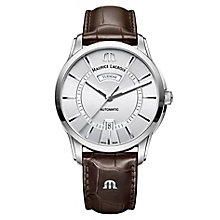 Maurice Lacriox Pontos Men's Stainless Steel Strap Watch - Product number 5925894