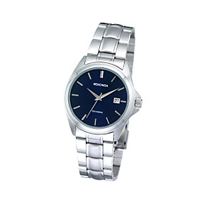 Sekonda Men's Round Blue Dial Bracelet Watch - Product number 5929105