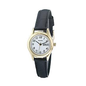 Sekonda Ladies' Black Strap Watch - Product number 5929164
