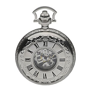 Double Half Opening Hunter Pocket Watch