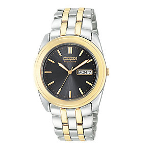 Citizen Men's Black Dial Bracelet Watch - Product number 5937590