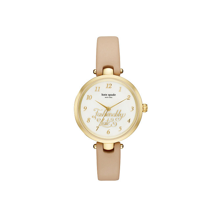 Kate Spade Metro Ladies' Gold Tone Strap Watch - Product number 5941490