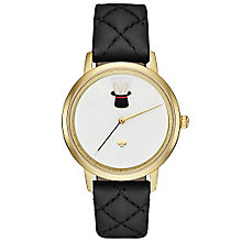 Kate Spade Metro Ladies' Gold Tone Strap Watch - Product number 5941725