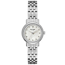 Kate Spade Ladies' Stone Set Stainless Steel Bracelet Watch - Product number 5941806