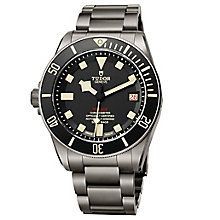 Tudor Pegalos Men's Ion Plated Bracelet Watch - Product number 5951534