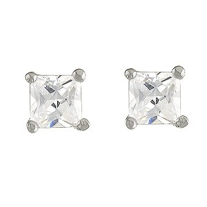 Sterling Silver Cubic Zirconia Stud Earrings - Product number 5958539