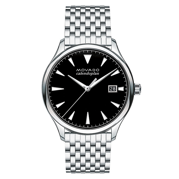 Movado Heritage Men's Stainless Steel Bracelet Watch - Product number 5961866