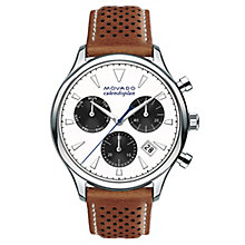 Movado Heritage Men's Stainless Steel Strap Watch - Product number 5962471
