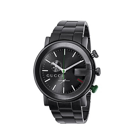 Gucci G mens chronograph watch