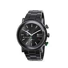 Gucci G Chrono men's black PVD bracelet watch - Product number 6004407