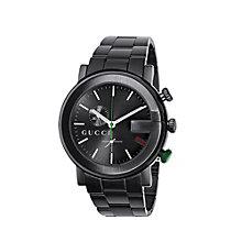 Gucci G Chrono men's black PVD bracelet watch - Product number 6004407
