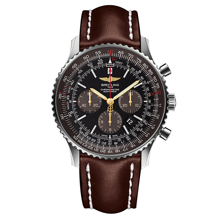 Breitling Navitimer 01 46mm Men's Strap Watch - Product number 6007090