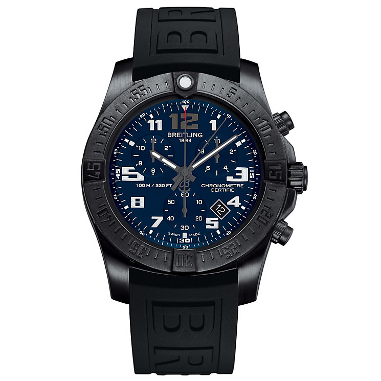Breitling Chronospace Evo Night Mission Men's Strap Watch