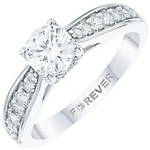 The Forever Diamond 18ct White Gold 1 Carat Diamond Ring - Product number 6010016