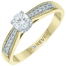 The Forever Diamond 18ct Gold 2/5 Carat Diamond Ring - Product number 6010164