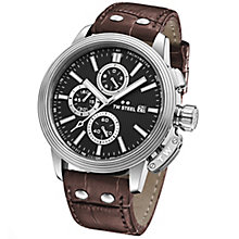 T.W Steel Adesso Men's Stainless Steel Strap Watch - Product number 6010334