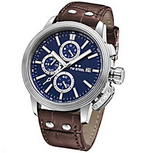 T.W Steel Adesso Men's Stainless Steel Strap Watch - Product number 6010385
