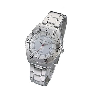 Men` Round Dial Bracelet Watch