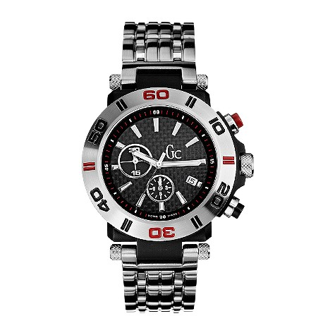 Guess Collection mens chronograph bracelet watch