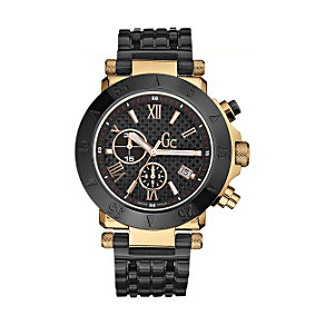 Gc men's ion-plated bracelet watch - 44mm outsized dial - Product number 6022189