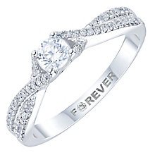 Platinum 1/3ct Diamond Solitaire Ring - Product number 6024688