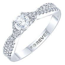 Platinum 1/2 Diamond Solitaire Ring - Product number 6024971