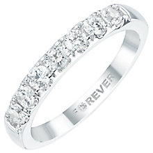The Forever Diamond Platinum 1/2 Carat Diamond Eternity Ring - Product number 6025455