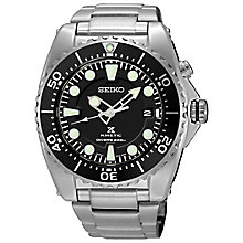 Seiko Prospex Kinetic men's stainless steel diver's watch - Product number 6026486