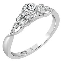 Emmy London 18ct White Gold 1/4ct Diamond Ring - Product number 6048374