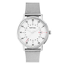 Paul Smith Gauge 41mm Men's Stainless Steel Bracelet Watch - Product number 6049109