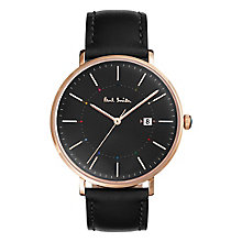 Paul Smith Track 41mm Men's Rose Gold Tone Strap Watch - Product number 6049176