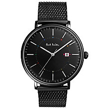 Paul Smith Track 41mm Men's Ion Plated Bracelet Watch - Product number 6049230