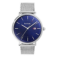 Paul Smith Track 41mm Men's Stainless Steel Bracelet Watch - Product number 6049249