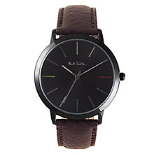 Paul Smith MA 41mm Men's Ion Plated Strap Watch - Product number 6049311