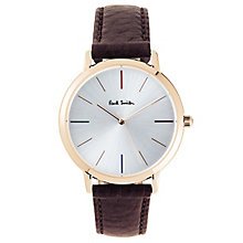 Paul Smith MA 41mm Men's Rose Gold Tone Strap Watch - Product number 6049362