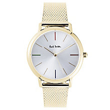 Paul Smith MA 41mm Men's Gold Tone Bracelet Watch - Product number 6049389