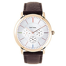 Paul Smith MA Multi 43mm Men's Rose Gold Tone Strap Watch - Product number 6049419