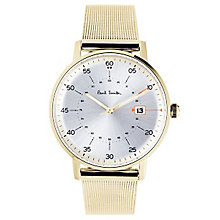 Paul Smith Gauge 41mm Men's Gold Tone Bracelet Watch - Product number 6049443