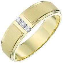 9ct Yellow Gold 0.10ct HJ P3 Diamond Ring - Product number 6057888