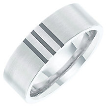 Titanium 3 Black Line Ring - Product number 6062032