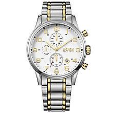 Hugo Boss Men's Two Colour Bracelet Watch - Product number 6075673