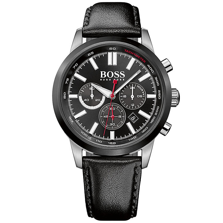 hugo boss watches boss watches uk ernest jones hugo boss men s ion plated strap watch product number 6075681