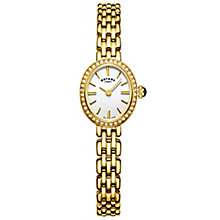 Rotary Ladies' Gold Plated Bracelet Watch - Product number 6076696