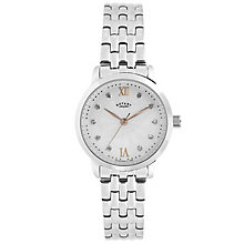 Rotary Ladies' Stainless Steel Bracelet Watch - Product number 6077382