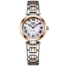 Rotary Ladies' Two Tone Rose Gold Plated Bracelet Watch - Product number 6077420