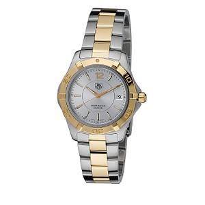 TAG Heuer Aquaracer men's two colour bracelet watch - Product number 6077846